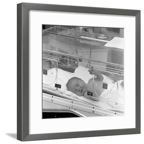 Special Care Unit for Premature Babies, Nether Edge Hospital, Sheffield, South Yorkshire, 1969-Michael Walters-Framed Art Print