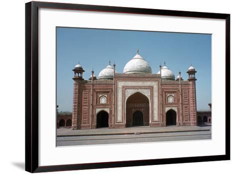 Taj Mahal Mosque, Agra, India-Vivienne Sharp-Framed Art Print