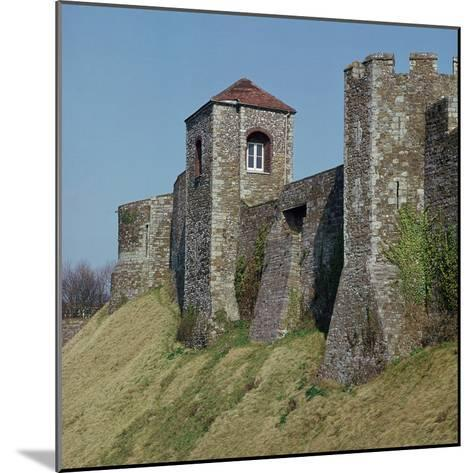 Dover Castle Walls, 12th Century- William the Conqueror-Mounted Photographic Print