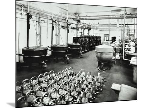 The Kitchen at Banstead Hospital, Sutton, Surrey, 1938--Mounted Photographic Print