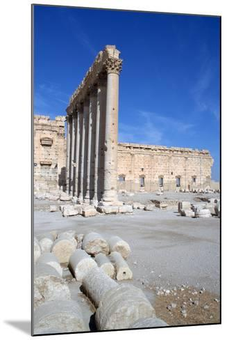 Courtyard of the Temple of Bel, Palmyra, Syria-Vivienne Sharp-Mounted Photographic Print