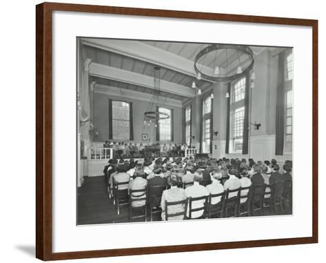 Students Attending a Conference, Furzedown Training College, London, 1935--Framed Art Print