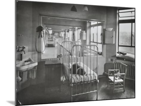 Childrens Isolation Wards, Brook General Hospital, London, 1948--Mounted Photographic Print