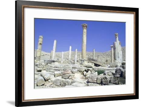 Ruins of the Ancient City of Pella, Jordan-Vivienne Sharp-Framed Art Print