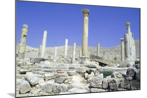 Ruins of the Ancient City of Pella, Jordan-Vivienne Sharp-Mounted Photographic Print
