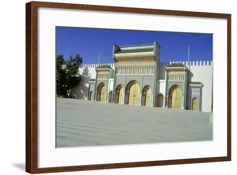 Gates of the Royal Palace, Fez, Morocco-Vivienne Sharp-Framed Art Print