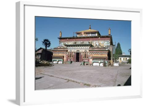 Ghum Monastery, Near Darjeeling, West Bengal, India-Vivienne Sharp-Framed Art Print