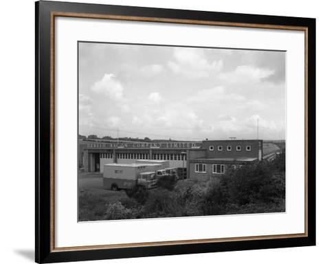 Danish Bacon Company Distribution Depot, Kilnhurst, South Yorkshire, 1963-Michael Walters-Framed Art Print
