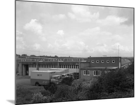 Danish Bacon Company Distribution Depot, Kilnhurst, South Yorkshire, 1963-Michael Walters-Mounted Photographic Print