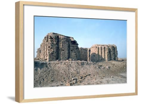 Shrine of Justice, Ur, Iraq, 1977-Vivienne Sharp-Framed Art Print
