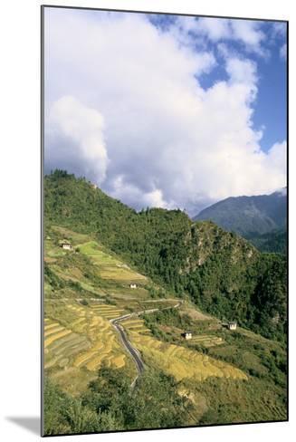 Road from Puntsholing to Paro, Bhutan-Vivienne Sharp-Mounted Photographic Print
