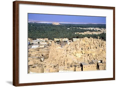 Ruined Citadel, Siwah, Egypt-Vivienne Sharp-Framed Art Print