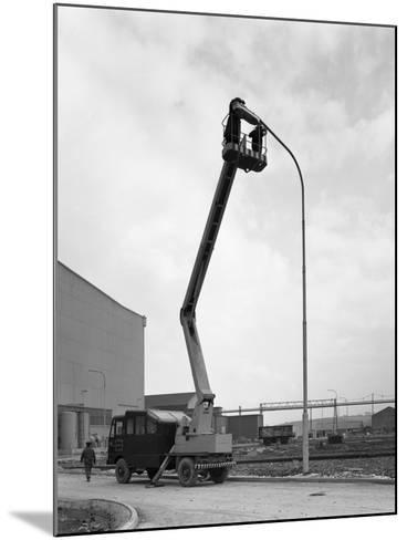 Simon Cherry Picker, Park Gate Iron and Steel Co, Rotherham, South Yorkshire, 1964-Michael Walters-Mounted Photographic Print