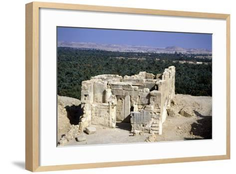 Temple of the Oracle, Siwah, Egypt-Vivienne Sharp-Framed Art Print