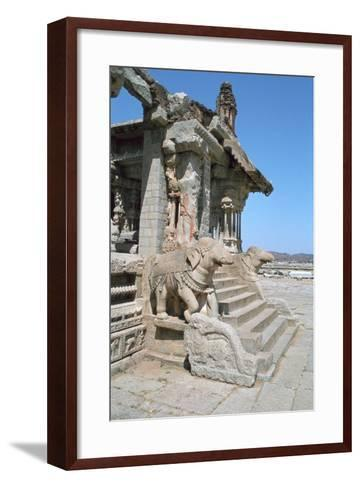 Vitthala Temple, Hampi, Karnataka, India-Vivienne Sharp-Framed Art Print
