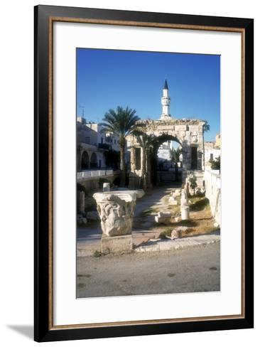 Arch of Marcus Aurelius, Tripoli, Libya, 163 Ad-Vivienne Sharp-Framed Art Print
