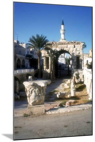 Arch of Marcus Aurelius, Tripoli, Libya, 163 Ad-Vivienne Sharp-Mounted Photographic Print