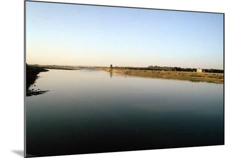 Wide River Tigris, Mosul, Iraq-Vivienne Sharp-Mounted Photographic Print