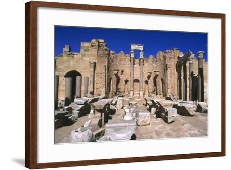 Severan Basilica, Leptis Magna, Libya, 216 Ad-Vivienne Sharp-Framed Art Print