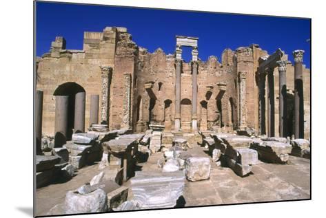 Severan Basilica, Leptis Magna, Libya, 216 Ad-Vivienne Sharp-Mounted Photographic Print