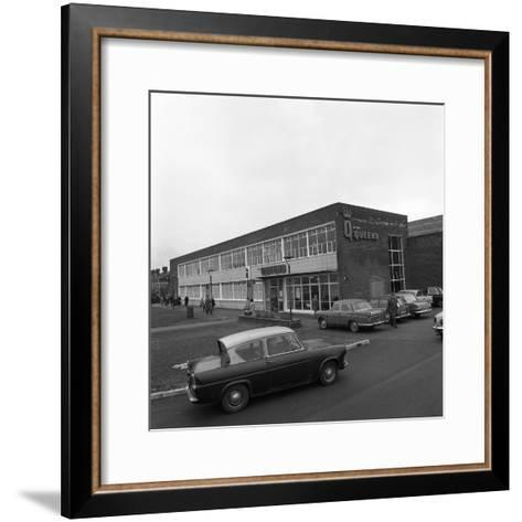 A Ford Anglia Outside Asda (Queens) Supermarket, Rotherham, South Yorkshire, 1969-Michael Walters-Framed Art Print
