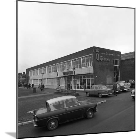 A Ford Anglia Outside Asda (Queens) Supermarket, Rotherham, South Yorkshire, 1969-Michael Walters-Mounted Photographic Print