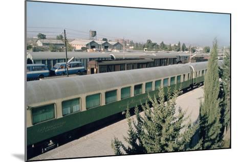 Railway Station Where Agatha Christie Arrived, Mosul, Iraq, 1977-Vivienne Sharp-Mounted Photographic Print