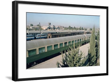 Railway Station Where Agatha Christie Arrived, Mosul, Iraq, 1977-Vivienne Sharp-Framed Art Print