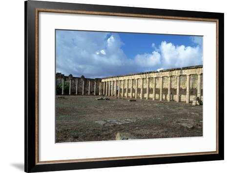 Forum, Cyrene, Libya-Vivienne Sharp-Framed Art Print