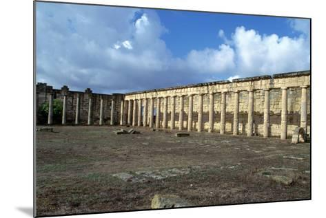 Forum, Cyrene, Libya-Vivienne Sharp-Mounted Photographic Print