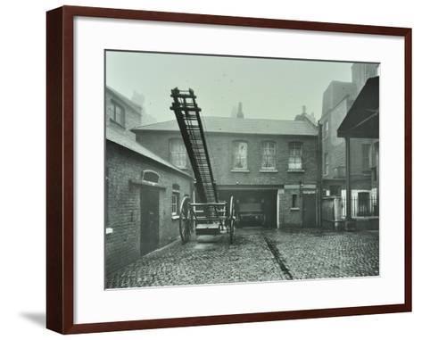 Clerkenwell Fire Station, No 44 Rosebery Avenue, Finsbury, London, 1910--Framed Art Print