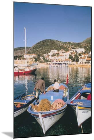 Kas Harbour, Turkey-Vivienne Sharp-Mounted Photographic Print