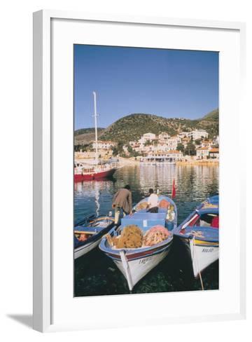 Kas Harbour, Turkey-Vivienne Sharp-Framed Art Print