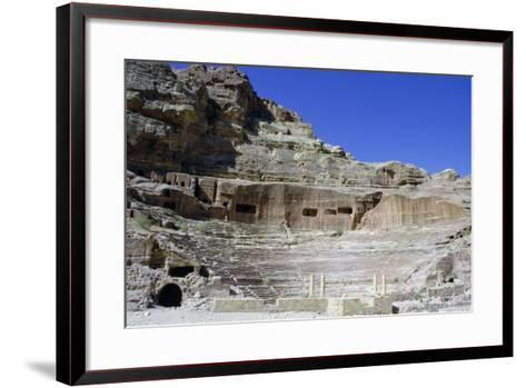 Roman Theatre, Petra, Jordan-Vivienne Sharp-Framed Art Print