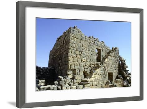Ruined Building, Umm El-Jimal, Jordan-Vivienne Sharp-Framed Art Print