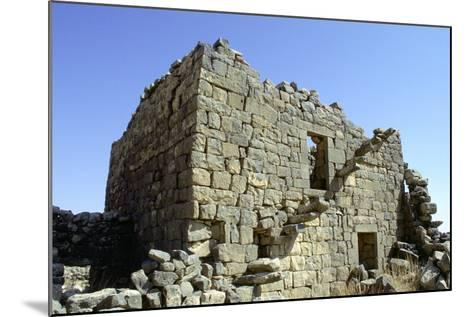 Ruined Building, Umm El-Jimal, Jordan-Vivienne Sharp-Mounted Photographic Print