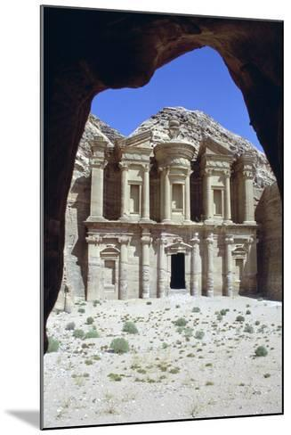 El Deir (The Monastery), Petra, Jordan-Vivienne Sharp-Mounted Photographic Print