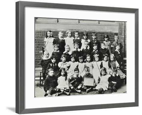 Infants School Class, London, C1900-C1915--Framed Art Print