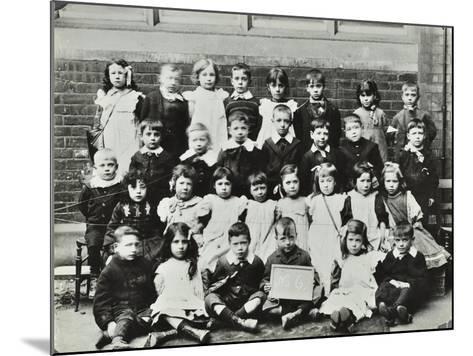 Infants School Class, London, C1900-C1915--Mounted Photographic Print