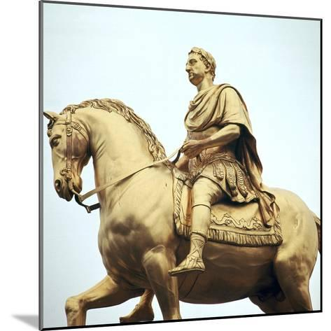 Equestrian Statue of King William Iii, 18th Century-Peter Scheemakers-Mounted Photographic Print