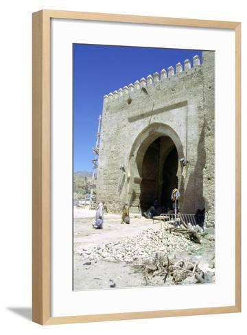 Restoration of the Bab Mahrouk Gate, Morocco-Vivienne Sharp-Framed Art Print