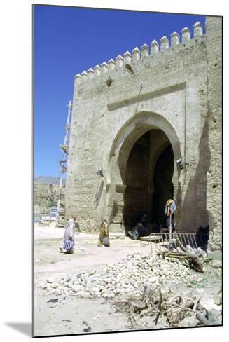 Restoration of the Bab Mahrouk Gate, Morocco-Vivienne Sharp-Mounted Photographic Print