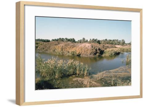 River Tigris by the Tower of Babel, Babylon, Iraq-Vivienne Sharp-Framed Art Print