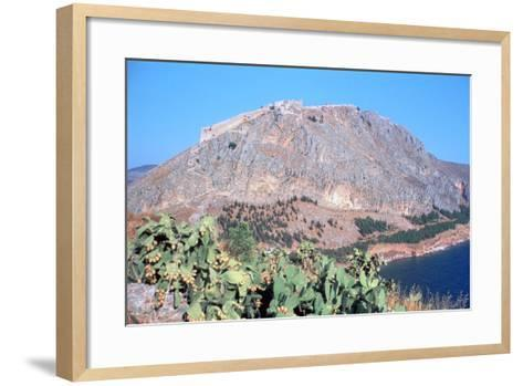 Fortress of Palamidi, Nafplion, Peloponnese, Greece-Vivienne Sharp-Framed Art Print
