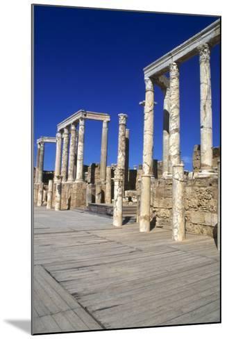 Theatre, Leptis Magna, Libya, 1-2 Ad-Vivienne Sharp-Mounted Photographic Print