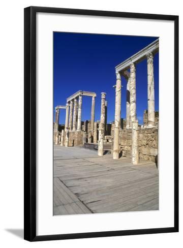 Theatre, Leptis Magna, Libya, 1-2 Ad-Vivienne Sharp-Framed Art Print