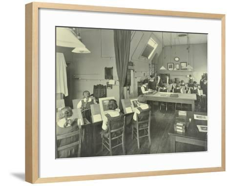 Photography Students, Bloomsbury Trade School for Girls, London, 1923--Framed Art Print