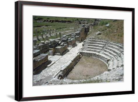 So-Called Odeion at Ephesus, 2nd Century-Publius Vedius Antoninus-Framed Art Print