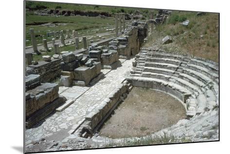 So-Called Odeion at Ephesus, 2nd Century-Publius Vedius Antoninus-Mounted Photographic Print