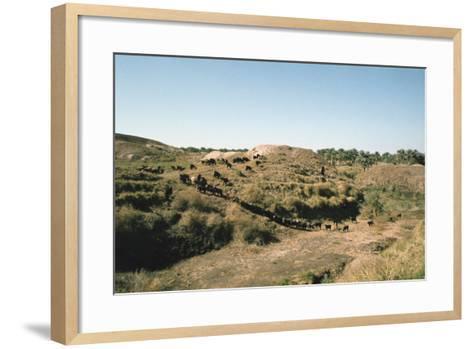 Tower of Babel, Babylon, Iraq, 1977-Vivienne Sharp-Framed Art Print